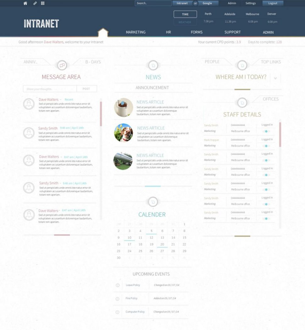 intranet for law firm