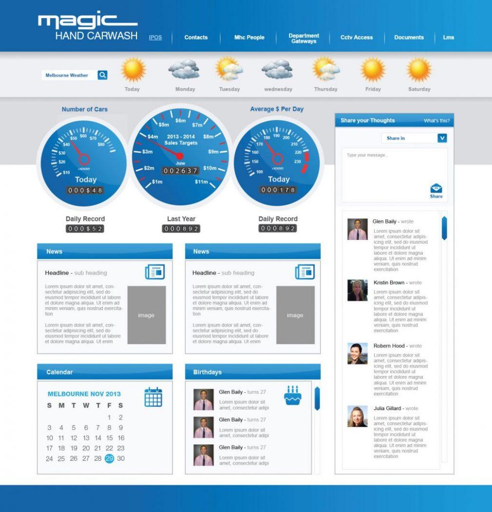 custom intranet layout 15